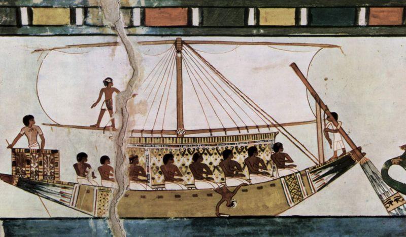 4500 jaar oude funeraire boot gevonden in egypte. Black Bedroom Furniture Sets. Home Design Ideas