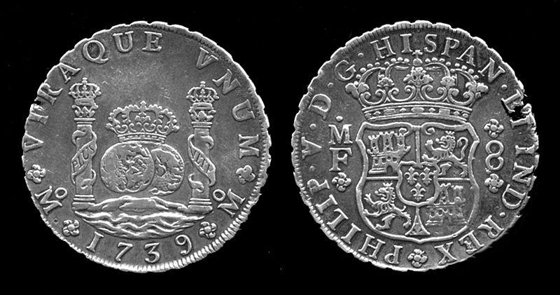 16e Eeuwse Munten.Spaanse Zilvermunt Uit 17e Eeuw Gevonden Archeologie Online