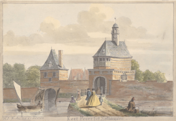 De Keetpoort en de Keetboom, Hendrik de Winter, Noord-Hollands Archief