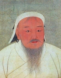 Dzjengis Khan (via wikimedia commons)