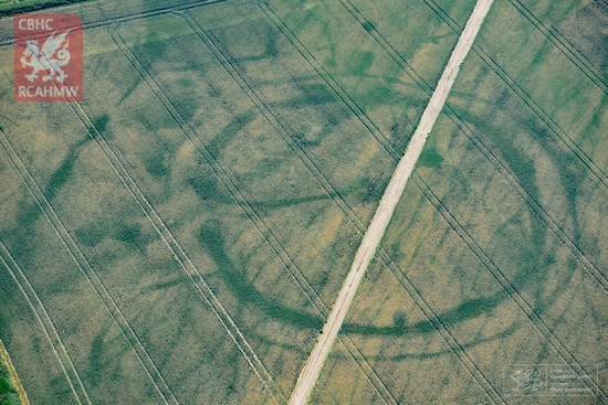 Cropmarks in Wales