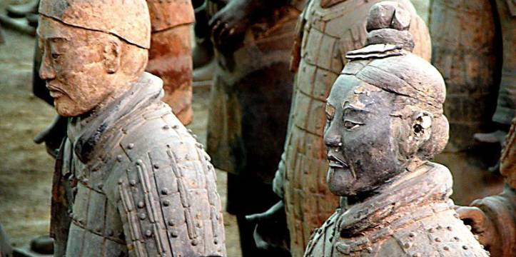 Terracotta Army detail