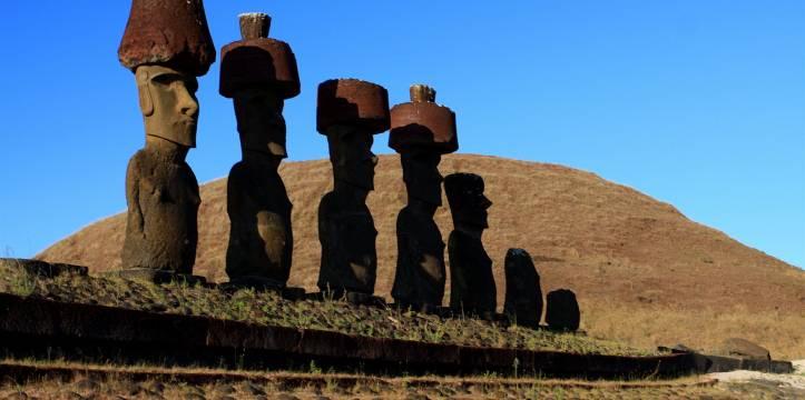 De Moai Op Paaseiland En Hun Mysterieuze Hoeden Archeologie Online