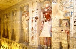 Verzegelde graftombe egypte gevonden