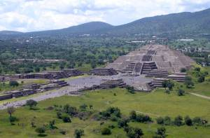 Piramide in Teotihuacan